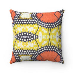Traditional Orange Pillow Home Decor 14x14