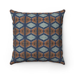 Blue Prism Pillow Home Decor 14x14