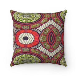 Modern Red Pillow Home Decor 14x14
