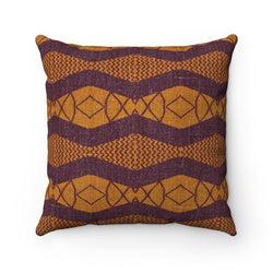Purple Ripple Pillow Home Decor 14x14