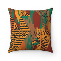 Safari Pillow Home Decor 14x14