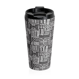 Luxury B&W- Flower Tumbler Mug