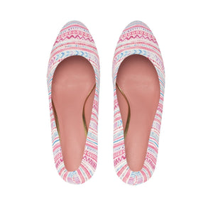 Luxury Pink- Cotton Candy Heels Shoes