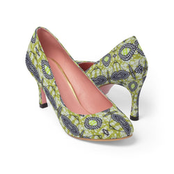 Traditional Lime Green Heels Shoes US 10