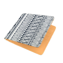 Black Tribal Men's Wallet Mens Wallet
