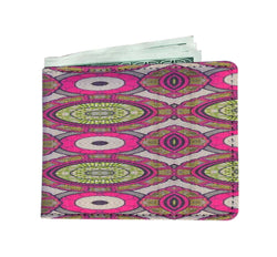 Modern Pink Men's Wallet Mens Wallet