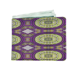 Modern Purple Men's Wallet Mens Wallet