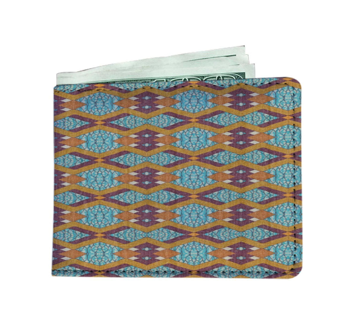 Purple Diamond Men's Wallet Mens Wallet