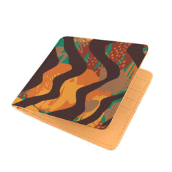 Safari Stripe Men's Wallet Mens Wallet