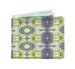 Traditional Lime Green Men's Wallet Mens Wallet