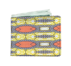 Traditional Orange Men's Wallet Mens Wallet