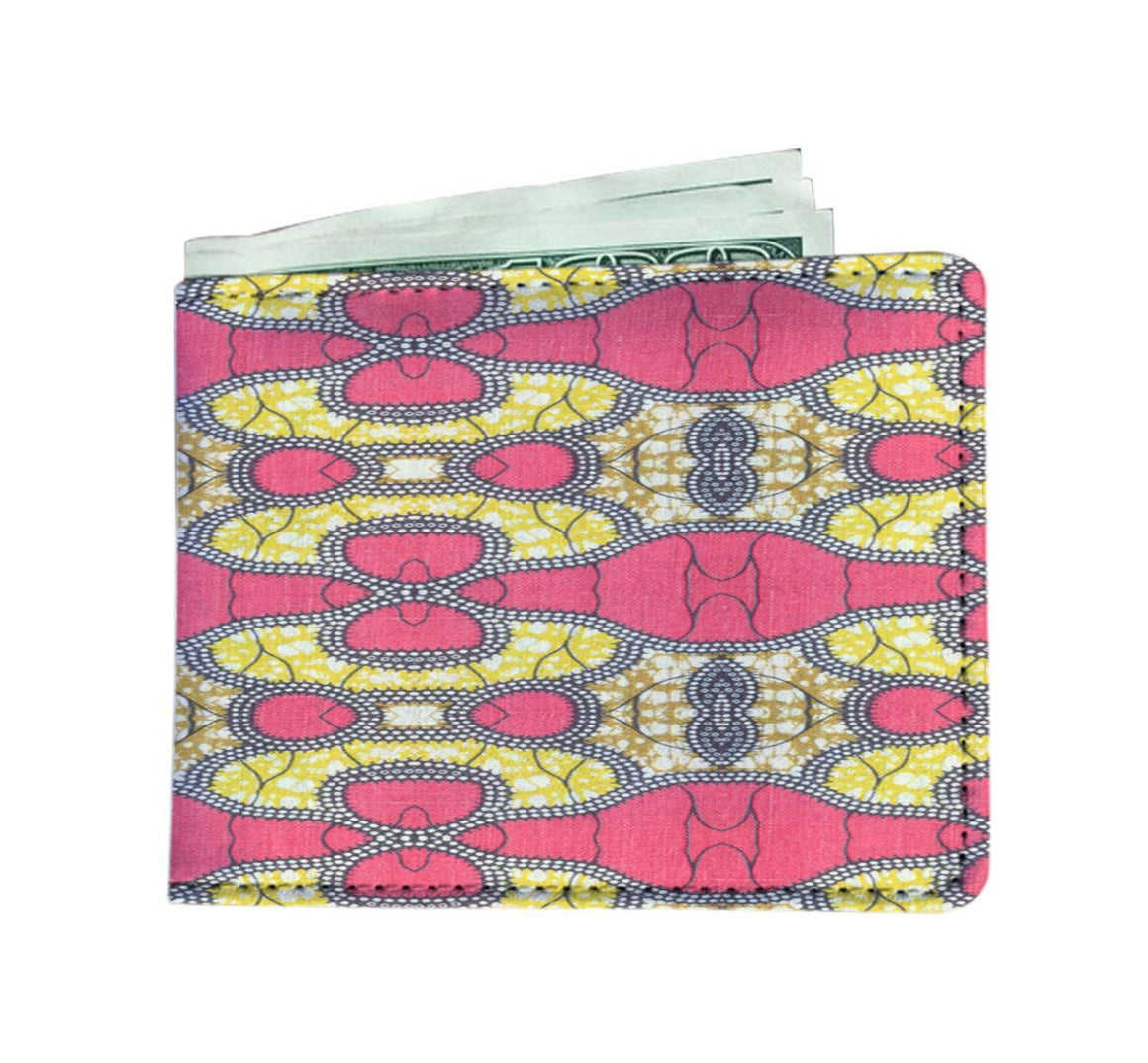 Traditional Pink Men's Wallet Mens Wallet