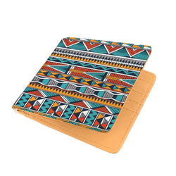 Triangle Tribal Men's Wallet Mens Wallet
