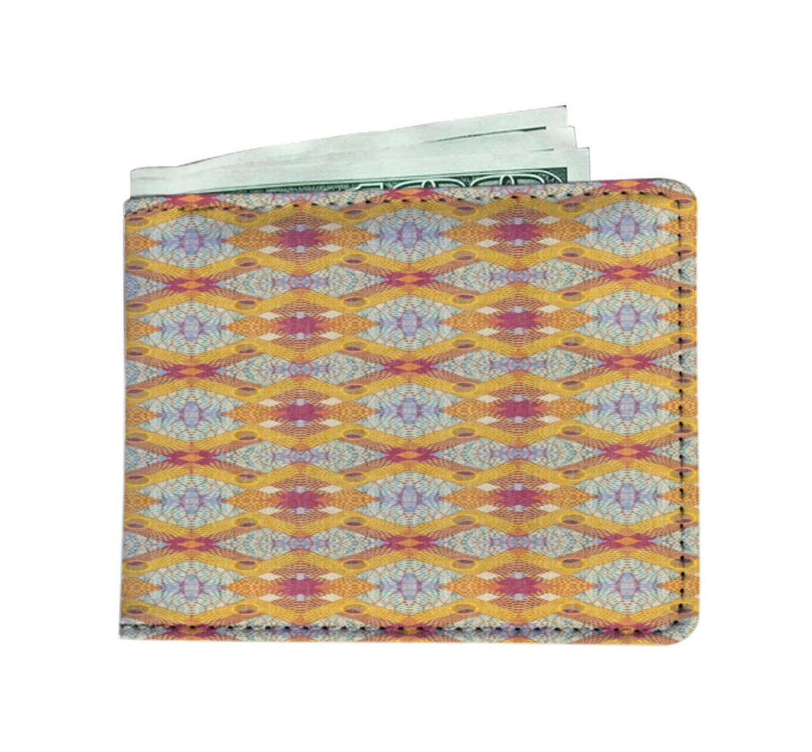Yellow Diamond Men's Wallet Mens Wallet