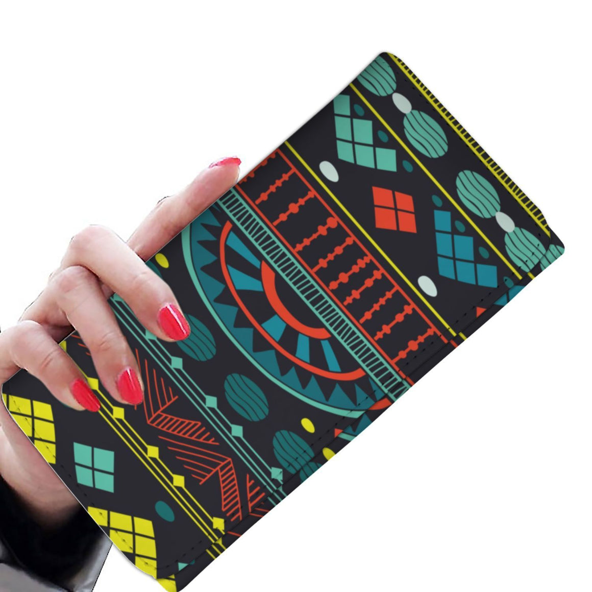 Aqua Tribal  Women's Wallet Womens Wallet