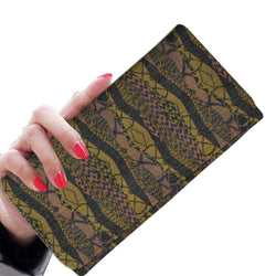 Crocodlle Green Women's Wallet Womens Wallet