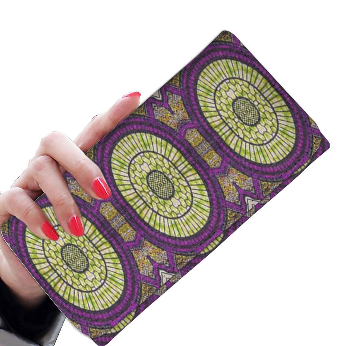 Modern Purple Women's Wallet Womens Wallet