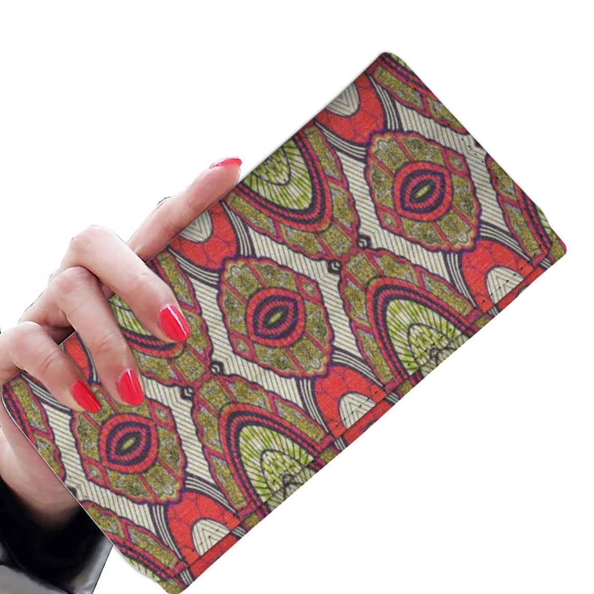 Modern Red Women's Wallet Womens Wallet