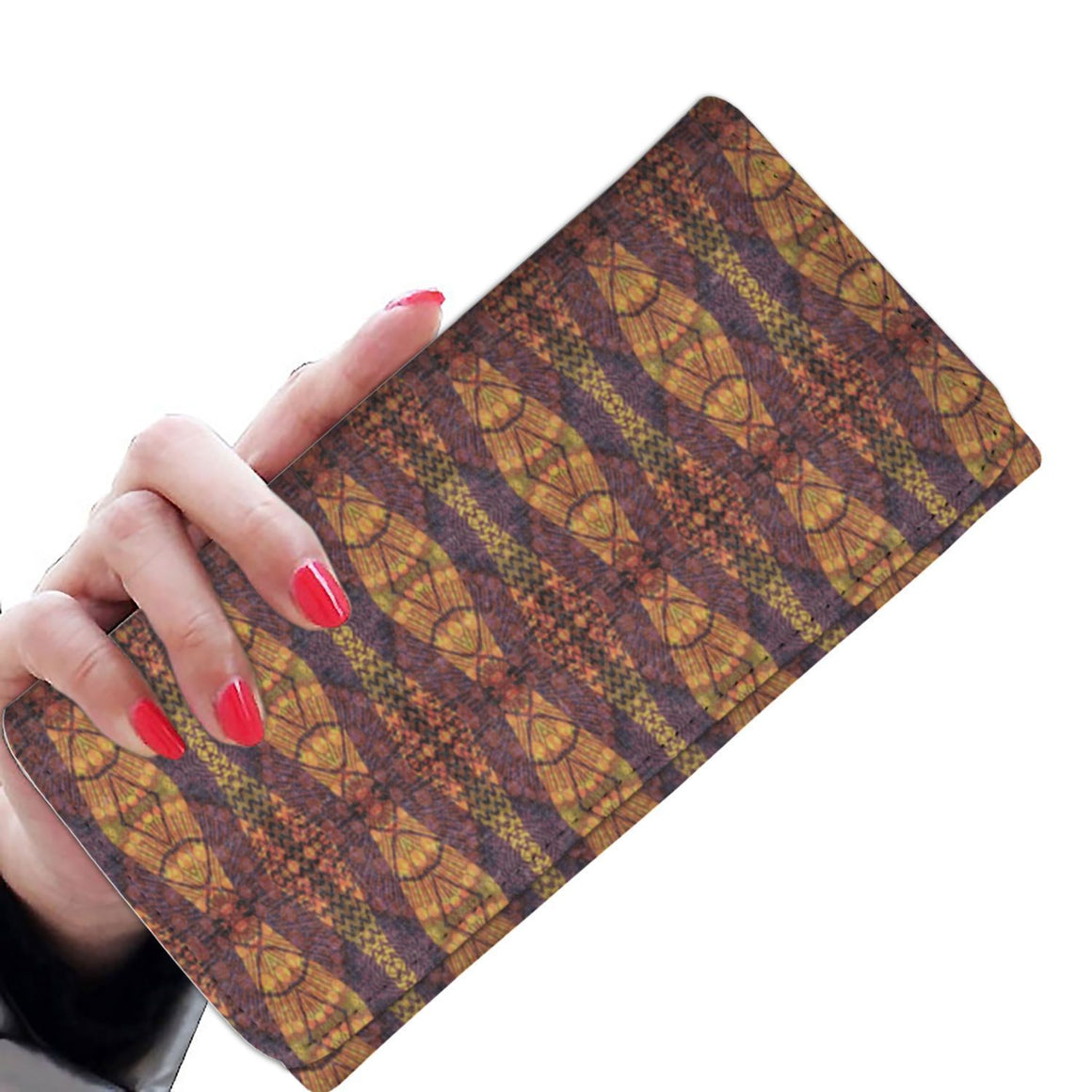 Purple Geo Women's Wallet Womens Wallet