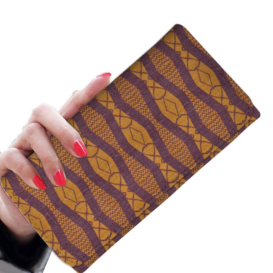 Purple Ripple Women's Wallet Womens Wallet