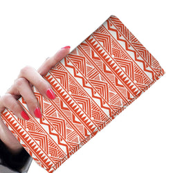 Red Tribal Women's Wallet Womens Wallet