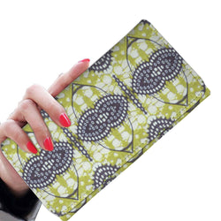 Traditional Lime Green Women's Wallet Womens Wallet