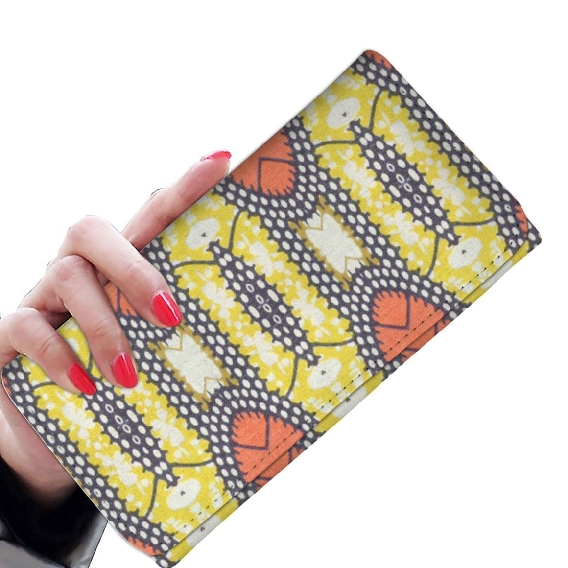 Traditional Orange Women's Wallet Womens Wallet