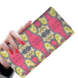 Traditional Pink Women's Wallet Womens Wallet