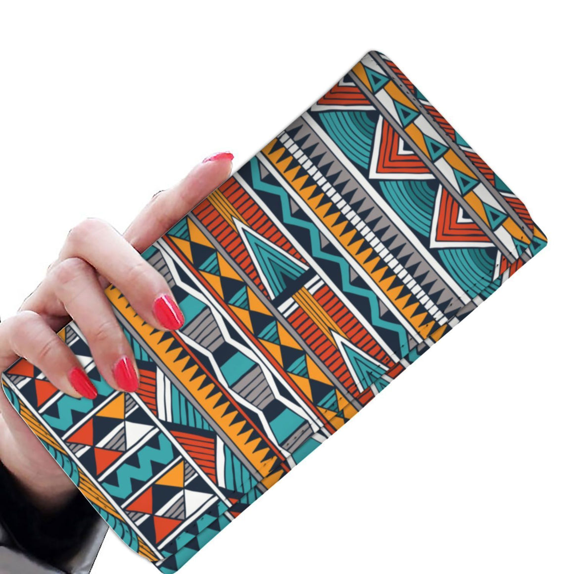 Triangle Tribal Women's Wallet Womens Wallet