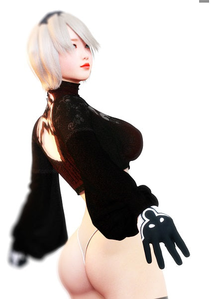 2B - NieR Automata Female Model