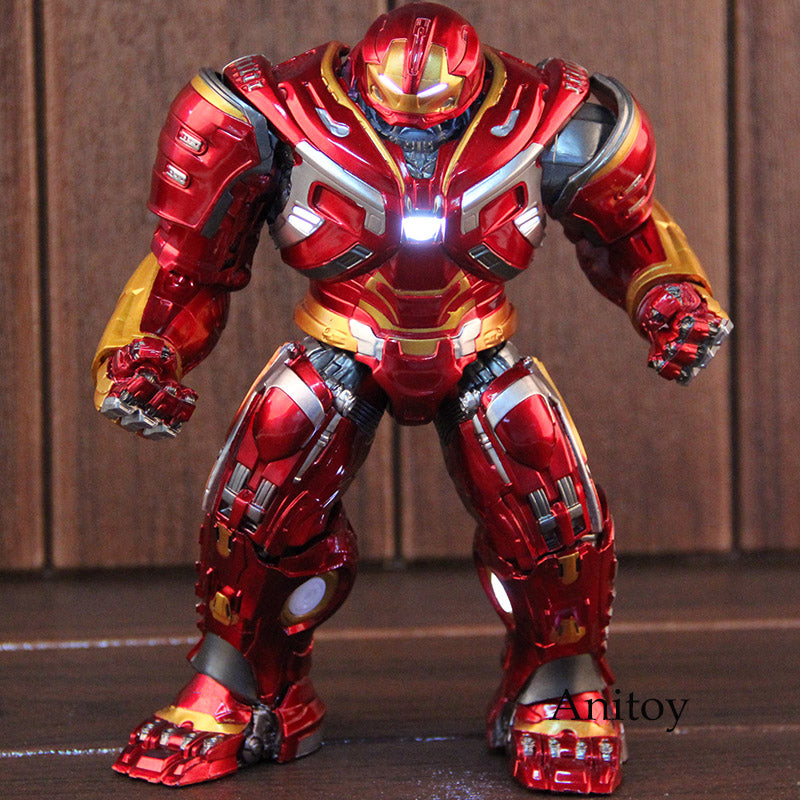 Marvel Avengers Infinity War Mark44 Hulkbuster Collectible Model Toy with LED Light