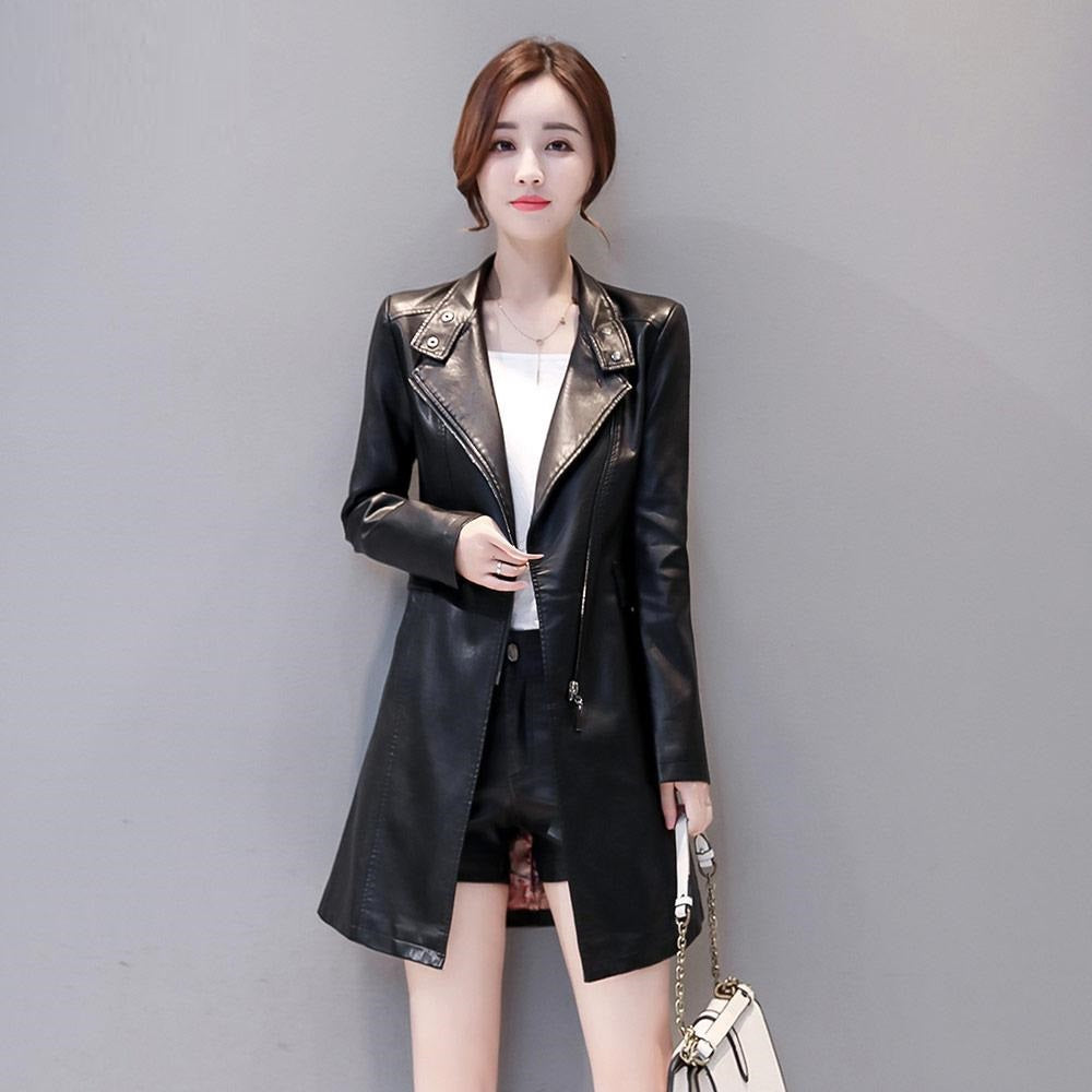 Leather Jacket /Coat With Cotton