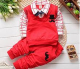 BibiCola spring autumn Baby boy clothing sets products kids clothes set boys high quality cotton long sleeve t-shirts+pants set