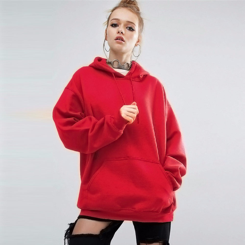 Long Sleeve Hoodie Sweatshirt Sweater Casual Hooded Coat