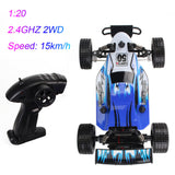 2.4GHZ 2WD Radio Remote Control Off Road RC RTR Racing Car Truck GN