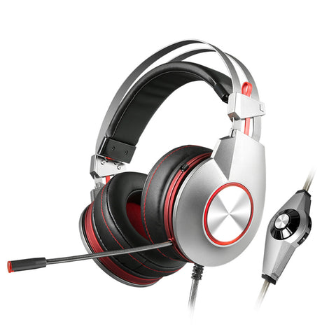 Cool Over-Ear Noise Reduction Gaming Headset Headphone HIFI 7.1channel Computer Game Earphone