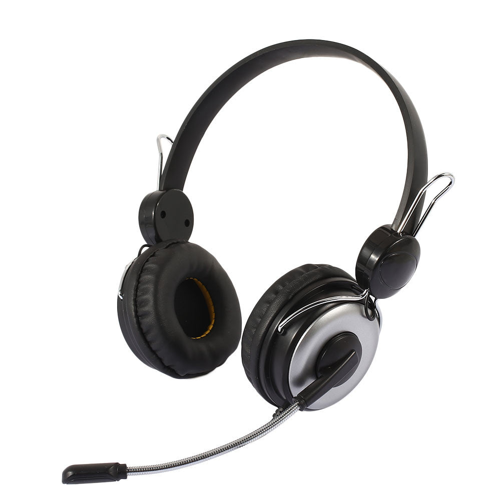 Gaming Headset Headphone Premium Laptop Noise Reduction Earphone with Mic Wired Over-Ear Game