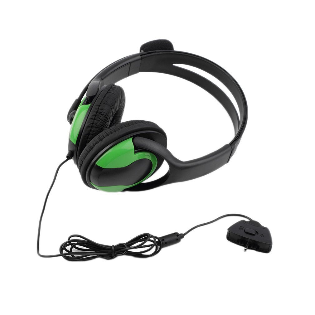 Wired Headset Headphone Earphone Microphone for XBOX360 Gaming PC Chat