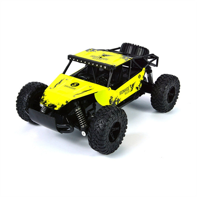 RC Car Off Road Vehicles 2.4GHz Radio Remote Control Truck 1:16 Electric Rock Crawler Control High Speed Cars (Yellow)