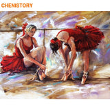 Dancers Diy Painting By Numbers