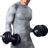 Compression Shirt Men Fitness Clothes Long Pants Leggings Bodybuilding T-shirts For Man Gyms Crossfit Sportwear Tracksuit