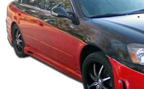 Duraflex Cyber Side Skirts Rocker Panels 2Pc for 2002-06 Nissan Altima   #104900