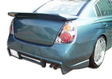 Fits 2002-2006 Nissan Altima Duraflex R33 Rear Bumper Cover - 1 Piece #100381