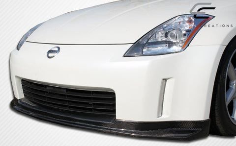 For 2003- 2005 Nissan 350Z Z33  Carbon  Fiber N-1 Front Lip Spoiler  #104221
