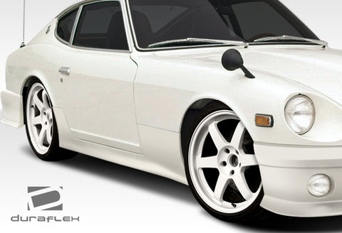 Fits 1970-1978 Nissan 240Z 260Z 280Z 2DR Duraflex MS-R Side Skirts Rocker Panels #108119