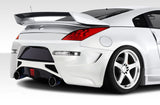 Duraflex AM-S GT Rear Bumper Cover - 1Pc for 2003-2008 Nissan 350Z Z33   #108182