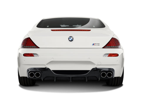 Fits 2006-2010 BMW M6 E63 E64 Convertible / 2DR Carbon Fiber AF-1 Rear Diffuser #108930