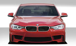 Fits 2012-2018 BMW 3 Series F30 Duraflex 1M Look Front Bumper Cover - 1 Piece   #109306