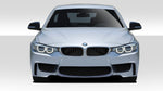 Fits 2014-2020 BMW 4 Series F32 Duraflex 1M Look Front Bumper Cover - 1 Piece   #109461
