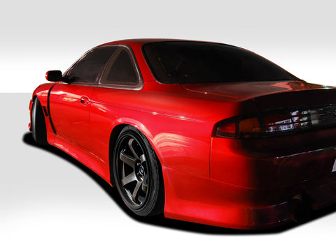 Fits 1995-1998 Nissan 240SX S14 Duraflex V-Speed Wide Body Rear Fenders  #109517
